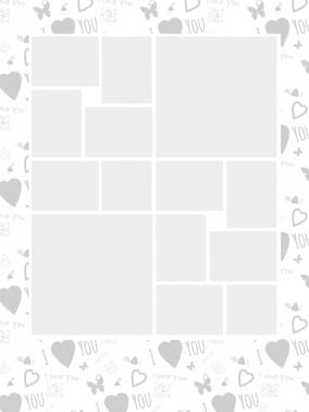 neu fotocollage als herz mit gratis vorlagen in herzform. Black Bedroom Furniture Sets. Home Design Ideas
