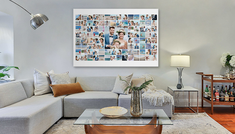 100 bilder collage wohnzimmer