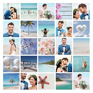 25 bilder collage ueberleitung