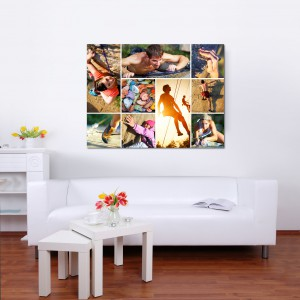Order your photo collage as acrylic prints