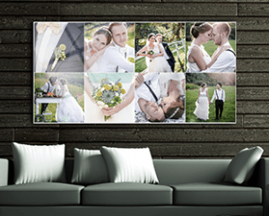 Acrylic prints of your photo collage