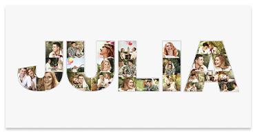 Collage aus eigenen Fotos