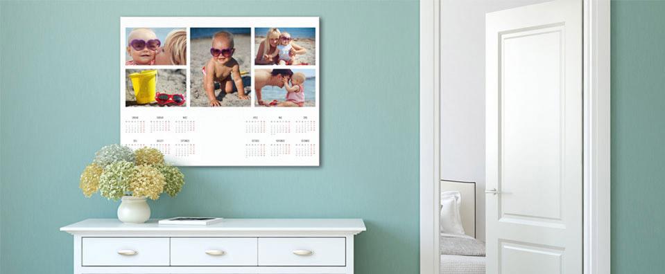 Kalender Wohnraumbeispiel