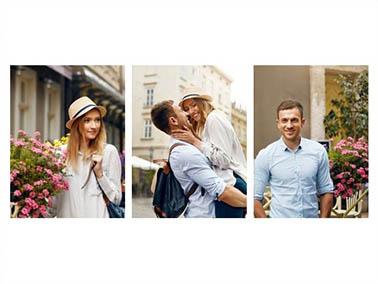 Fotocolalge mit 3 Bildern