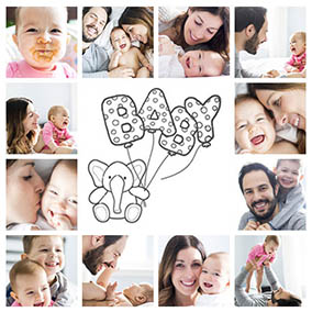collage babyfotos slider