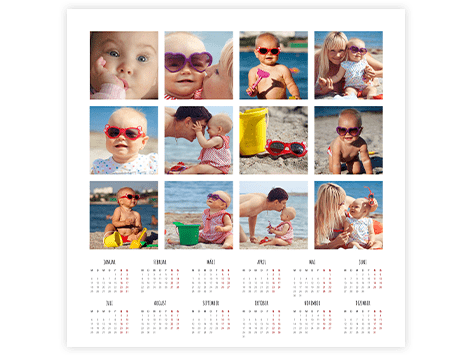 collage kalender top