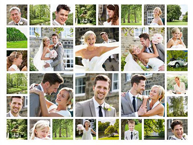 Fotocollage mit 30 Bildern