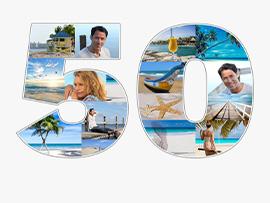 Fotocollage zum 50. Geburtstag