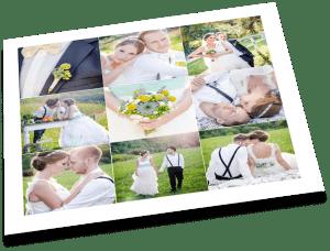 Fotocollage erstellen - Hochzeitsbilder