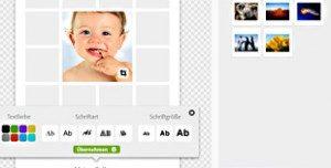 Fotocollage online gestalten